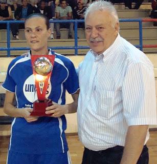 Elaine e Prefeito João Carlos - Guaranésia