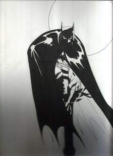 Batman sketch by Ed McGuiness