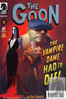 The Goon The Vampire Dame Had to Die cover