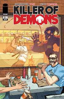 Killer of Demons #3 cover