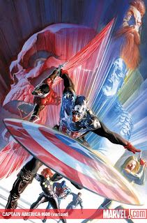 Captain America #600 cover