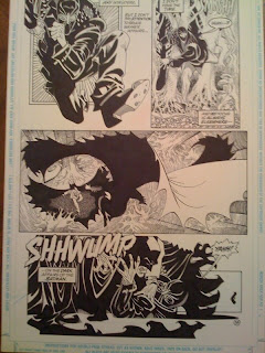 Kelley Jones original comic art