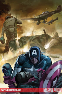 Captain America #601 regular cover