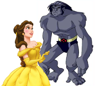 Beauty and Beast: Disney meets Marvel