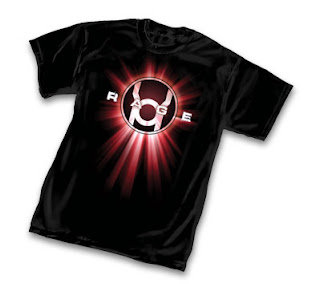 Red Lantern Rage t-shirt