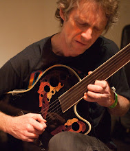 Jim Goodin, fretless guitar