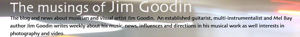 The musings of Jim Goodin