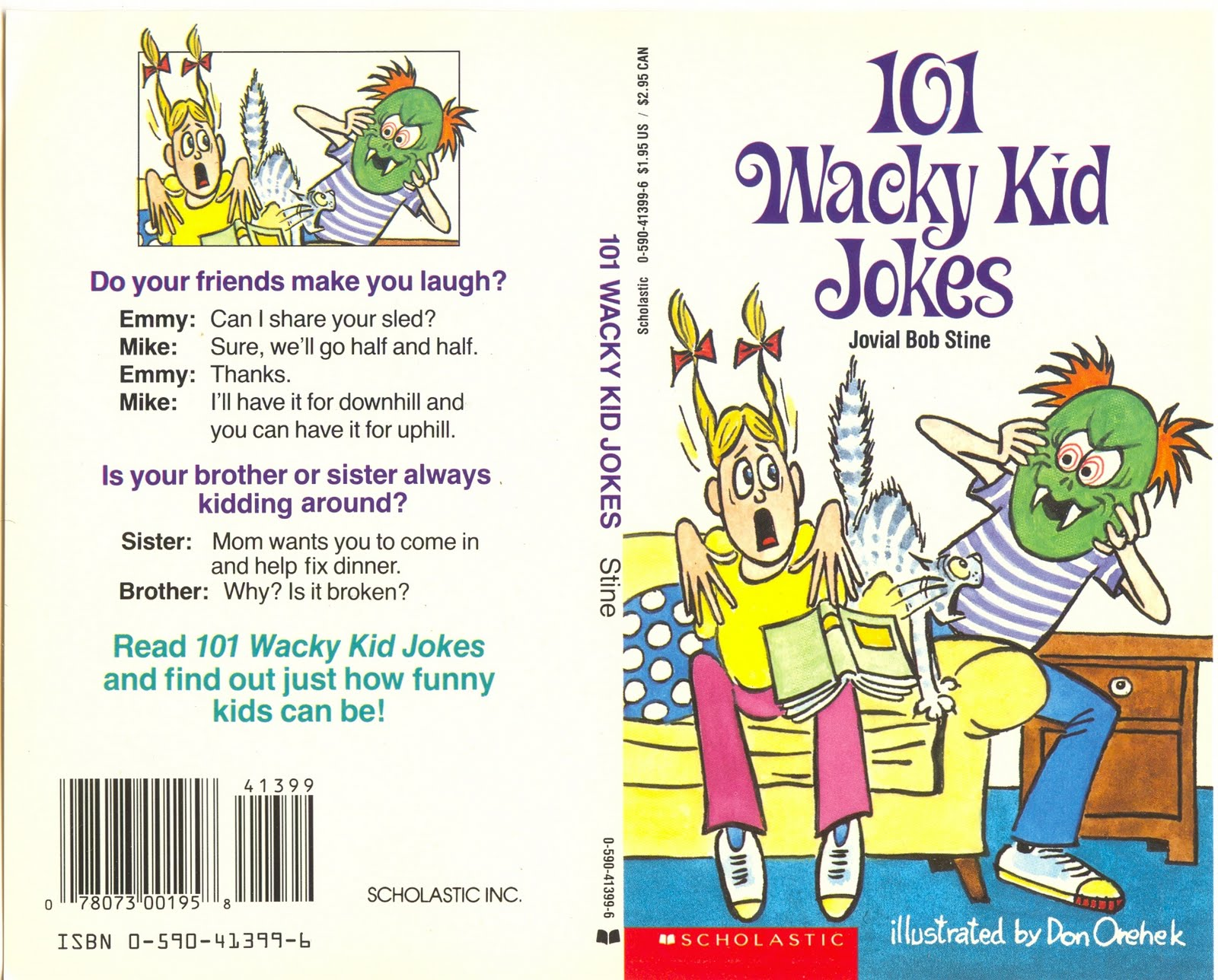 Don Orehek Cartoons: 261. 101 Wacky Kid Jokes