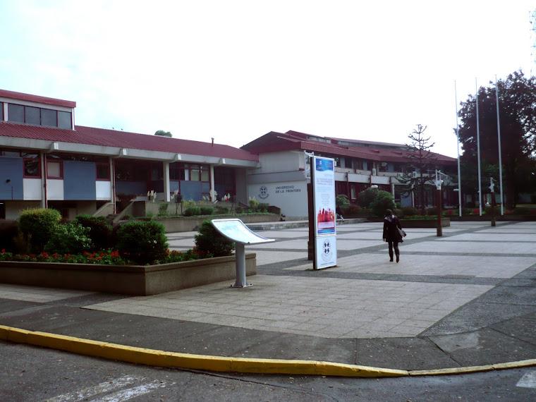 EDUCACIÓN 10. OTRO ÁNGULO DE LA UNIVERSIDAD DE LA FRONTERA (UFRO). RECTORÍA