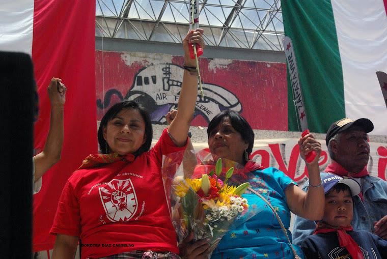 MÉXICO. AMÉRICA, TRINI, FININI Y LOS PUEBLOS INDIOS EN RESISTENCIA