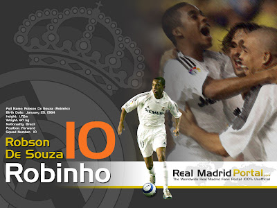 robinho wallpapers. Robinho Warns Real Madrid