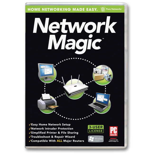 Network Magic para redes [Crear Redes Automaticamente]