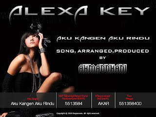 alexa key aku kangen aku rindu