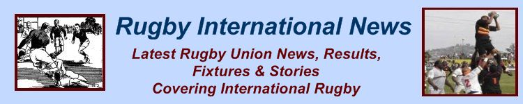 Rugby International News