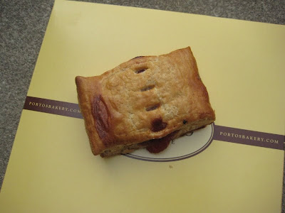 Porto's Bakery - Guava Strudel top view