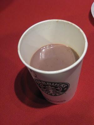Review: Starbucks - Hot Chocolate | Brand Eating