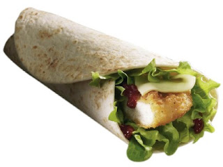McDonald's BBQ Snack Wrap