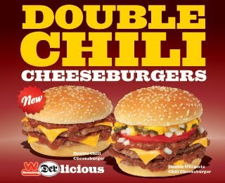 Wienerschnitzel's New Double Chili Cheeseburgers