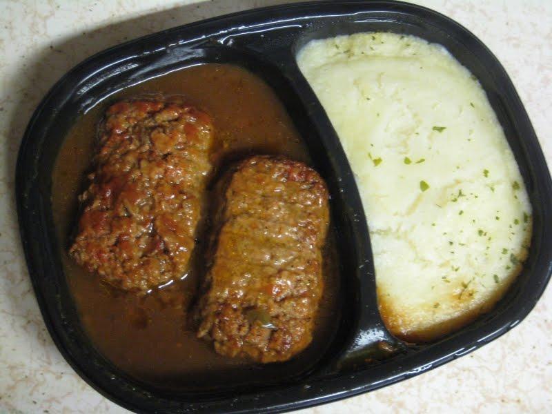 Frozen Friday: Stouffer's - Meatloaf Dinner | Brand Eating