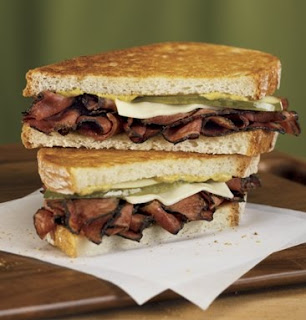 Jack in the Box Pastrami Grilled Sandwich