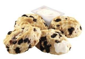 BK Blueberry Biscuit