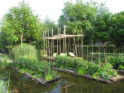 Ain d fali online adol les jardins flottants for Jardin flottant