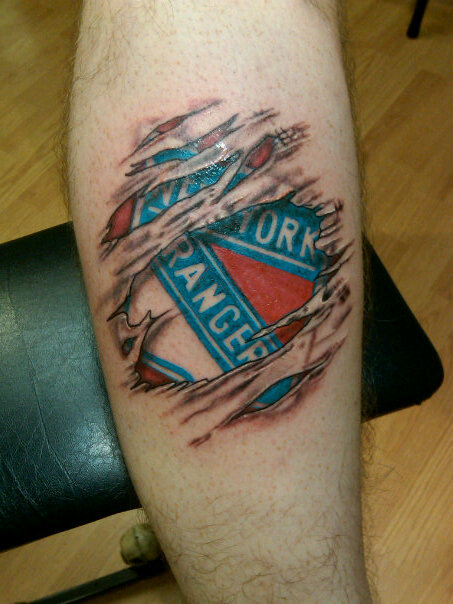 the new york rangers blog another thenyrblog reader tattoo. Black Bedroom Furniture Sets. Home Design Ideas