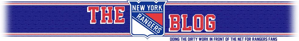 The New York Rangers Blog