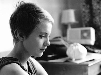 Jean Seberg, em 'À bout de souffle' de Jean Luc-Godard