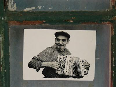 O senhor da concertina, Mercado do Bolhão (Porto)