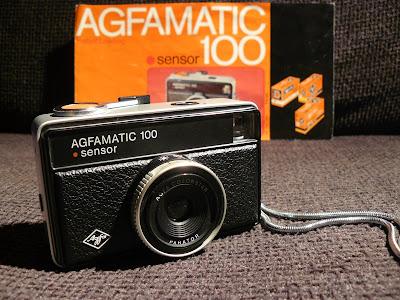 Agfamatic 100 Sensor