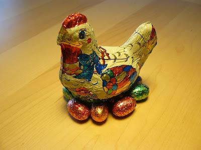 A galinha dos ovos de chocolate