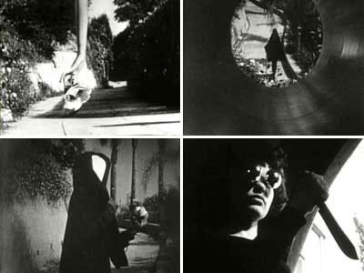Stills from Meshes of the Afternoon