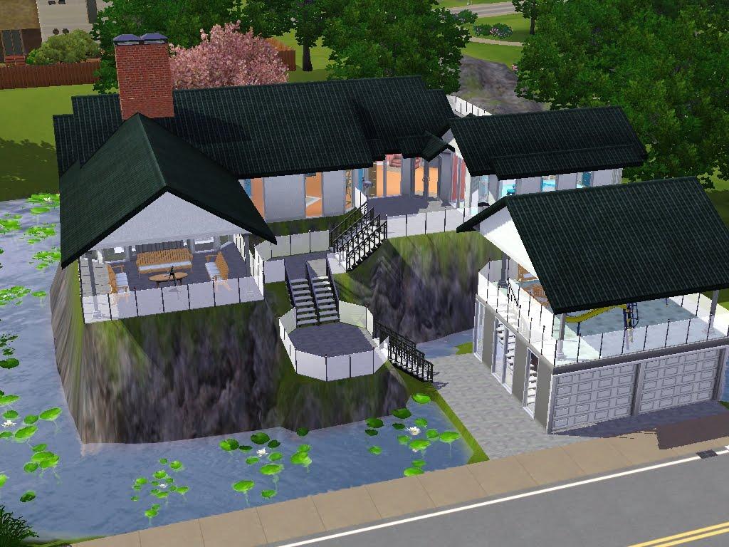 The sims 3 home design catalog 3 villa specchio di lago for Case bellissime minecraft
