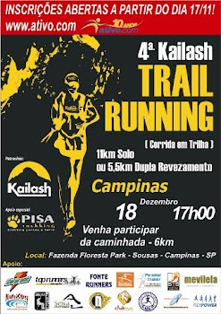 4º CORRIDA TRAIL RUNNING KAILASH