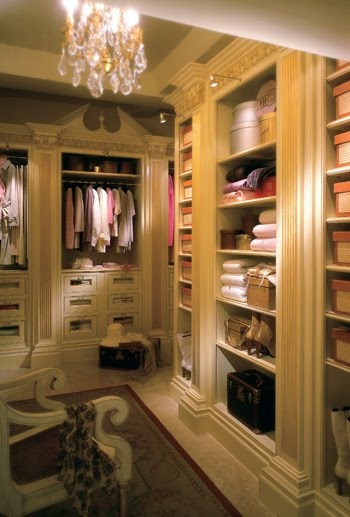Southern Chateau Fabulous Dressing Rooms And Closets