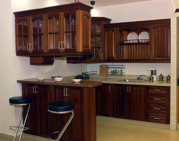 Creartte de interiores Cocinas En caobas