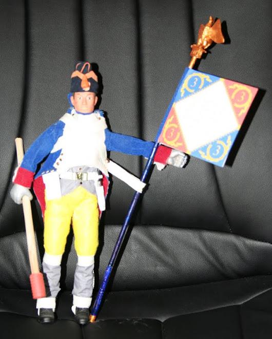 Granadero Francés con Bandera