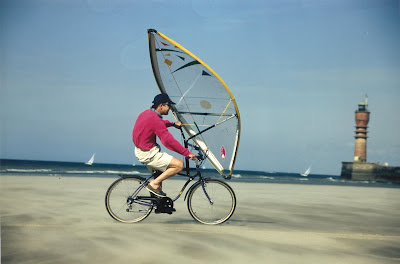Pierre-Yves Gires and Sailbike in France - Dunkerque
