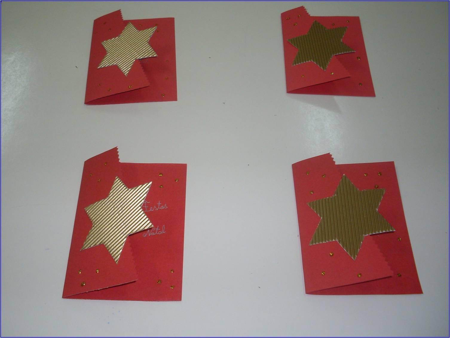 postal simples com estrela Imagem12