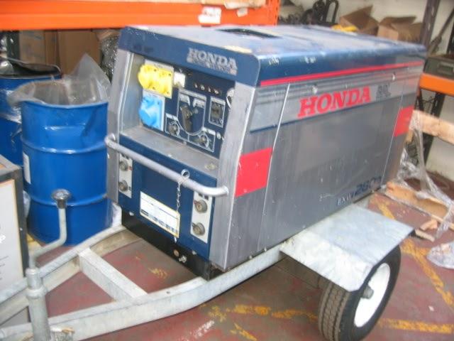all at time honda exw280d silenced diesel welder generator. Black Bedroom Furniture Sets. Home Design Ideas