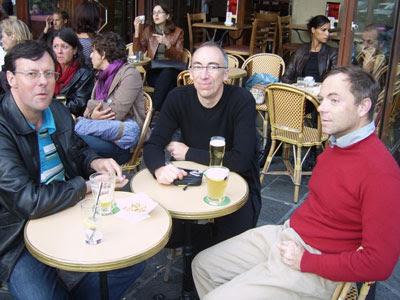 Xavier de Mazenod, Luc Legay et Franck Dumesnil (Explorateurs du Web)