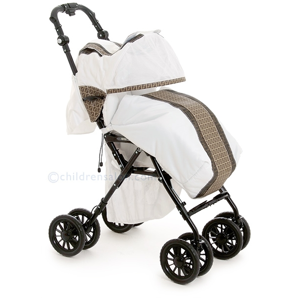 designer baby holy lord fendi stroller. Black Bedroom Furniture Sets. Home Design Ideas