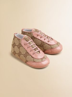 Designer Baby: More Expensive Baby Shoes from Gucci