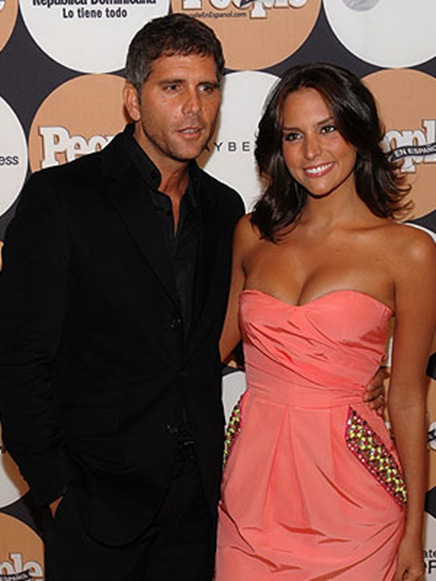 Genesis Rodriguez and christian meier