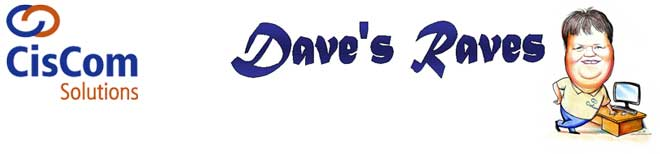 Dave's Raves