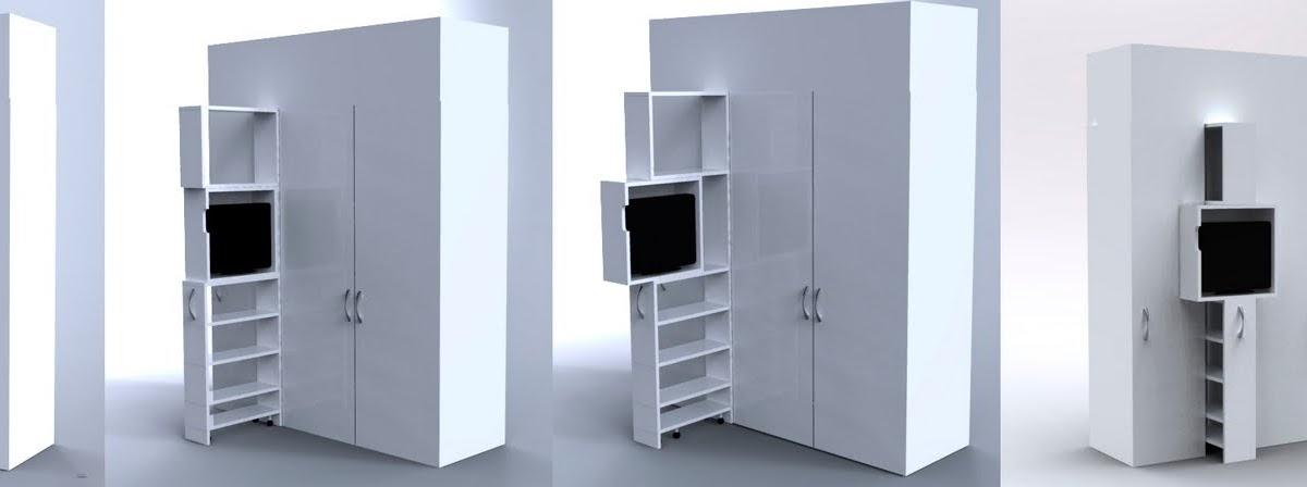 Fernando sarvide primo mobiliario para espacios peque os Mobiliario para espacios reducidos