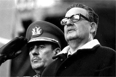 General Carlos Prats con Salvador Allende