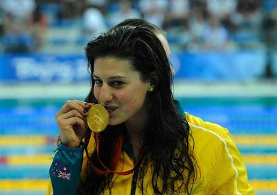 Beijing 2008 - Stephanie Rice, ganadora del oro en 400m estilos