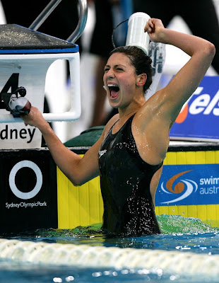 Stephanie Rice en Sydney 2008